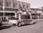 Hobo Day parade float, 1955