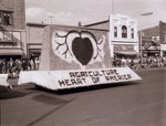 Hobo Day parade float, 1956