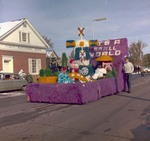 Hobo Day parade float, 1970