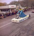 Hobo Day parade float, 1971