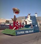 Hobo Day parade float, 1973