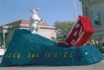 Hobo Day parade float, 1963