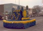 Hobo Day parade float, 1965