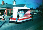 Hobo Day parade float, 1972