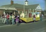 Hobo Day parade float, 1977