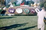 Hobo Day parade float, 1958