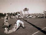 Hobo Day football game, 1954