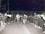 Hobo Day football game, 1956