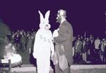 Weary Wil and the Jackrabbit mascot South Dakota State University, 1968