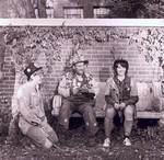 Three hobos at South Dakota State University, 1972
