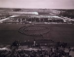 Marching band formation, 1970