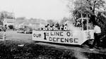 Sigma Alpha Epsilon Hobo Day parade float, 1941