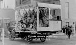 School of Pharmacy parade float, 1922
