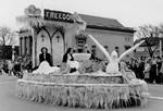 Pharmacy parade float, 1950