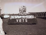 Vets Hobo Day parade float, 1946