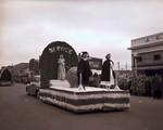 Nurses Education Club Hobo Day parade float, 1950