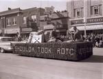 Veterans Club Hobo Day parade float, 1957