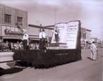 Printonian Club Hobo Day parade float, 1957
