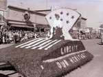 Officer's mess Hobo Day parade float, 1957