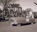Sioux Falls College Royalty Hobo Day parade float, 1951