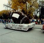 Nursing Hobo Day parade float, 1986
