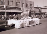 Nursing Hobo Day parade float, 1955