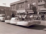 United Nations Hobo Day parade float, 1955