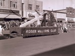Roger Williams Club Hobo Day parade float, 1955