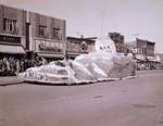 Senior Class Hobo Day parade float, 1954