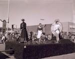 Women's Recreational Association Hobo Day parade float, 1959