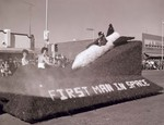 Officer's Mess Hobo Day parade float, 1960