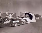 Pharmacy Club Hobo Day parade float, 1960