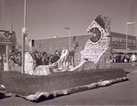Wesley Club Hobo Day parade float, 1961