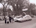 P.E. Club Hobo Day parade float, 1962