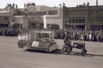 Poultry Club Hobo Day parade float, 1948