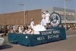 Nurses Club Hobo Day parade float, 1963