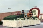 Rodeo Club Hobo Day parade float, 1964