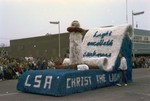 Lutheran Student's Association Hobo Day parade float, 1965