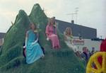 Pharmacy Hobo Day parade float, 1968