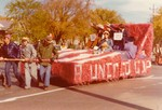 Young Republicans Hobo Day parade float, 1974
