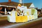 Nurses Club Hobo Day parade float, 1975