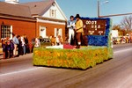 Seeds and Soils Society Hobo Day parade float, 1975