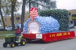 Seventy-fifth Jubilee Hobo Day parade float, 1986