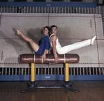Gymnasts, SDSU Gymnastics Team, 1970
