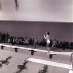 Woman Diver, SDSU Swim Team, 1973