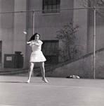 Women's Tennis Player, SDSU Tennis Team, 1973