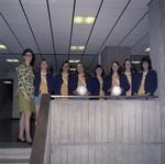 Women's Volleyball Team, SDSU, 1973