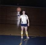 Women's Basketball Player, SDSU Women's Basketball Team, 1974