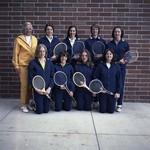 Women's Tennis Team, SDSU, 1974