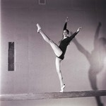Woman Gymnast, SDSU Gymnastics Team, 1975